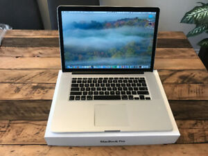 """Editing Macbook Pro 15"""" 16GB 512GB Nvidia 750