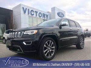 2018 Jeep Grand Cherokee Overland, Navigation, Heated & Cool