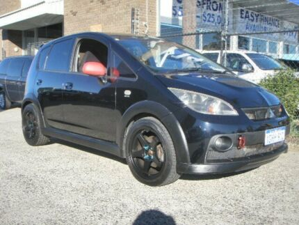 2006 Mitsubishi Colt RG MY06 Upgrade Ralliart Black 5 Speed Manual Hatchback Wangara Wanneroo Area Preview