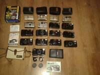 Nikon cameras large collection