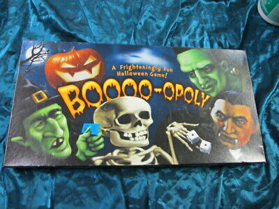 Fun Halloween Games For Adults (Fun Halloween BOOOO-OPOLY trading game for 2 to 6 players ages 8 to)