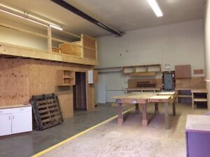 I-2 commercial shop/warehouse space on Cousins Ave, Courtenay Comox / Courtenay / Cumberland Comox Valley Area image 2