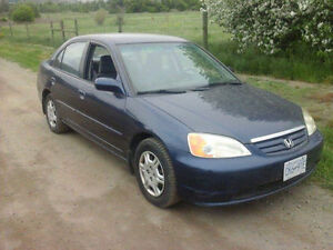 2001 Honda Civic Sedan 4 door must go today make offer