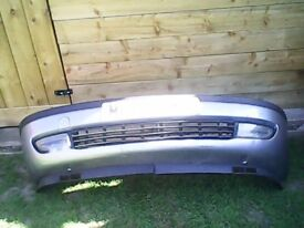 vauxhall zafira mk1 front bumper with fog lights