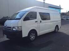 2008 Toyota Hiace Van SLWB - Petrol/Lpg - Perfect Courier Vehicle Clayton Monash Area Preview