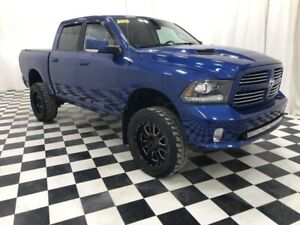 2015 Ram 1500 Sport - Lifted With 35s & Leather
