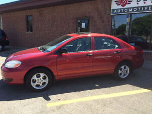 2006 Toyota Corolla CE Sedan. 5-speed. CERTIFIED AND ETESTED!