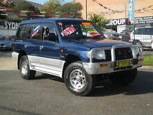 1999 Mitsubishi Pajero NL Exceed GLS LWB (4x4) Blue 4 Speed Automatic 4x4 Wagon Homebush Strathfield Area Preview