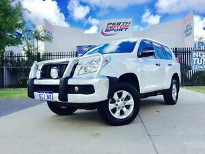 2010 Toyota Landcruiser Prado KDJ150R GX (4x4) Glacier White 5 Speed Sequential Auto Wagon Beckenham Gosnells Area Preview