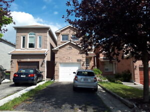 Large three bedroom main and upper floor Oakville