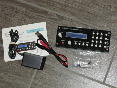 Fg085 Mini Dds Digital Synthesis Function Signal Generator Fully Assembled