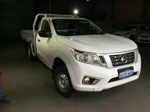 2016 Nissan Navara NP300 D23 DX (4x2) White 6 Speed Manual Cab Chassis East Perth Perth City Area Preview