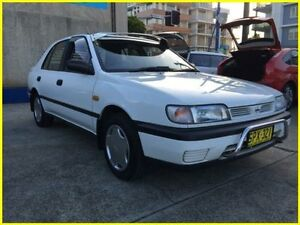 1993 Nissan Pulsar White Automatic Hatchback Kogarah Rockdale Area Preview