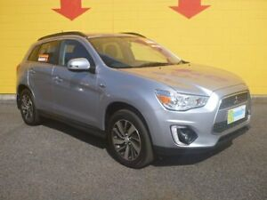 2014 Mitsubishi ASX XB MY15 LS 2WD Grey 6 Speed Constant Variable Wagon Winnellie Darwin City Preview