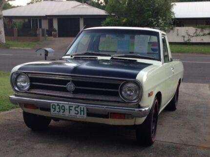 1971 Datsun 1200 ute Parramatta Park Cairns City Preview
