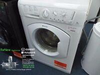 EX-DISPLAY WHITE 7KG 1400 SPIN HOTPOINT WASHING MACHINE REF: 13520