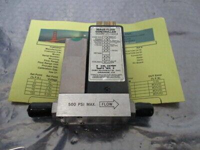 UNIT UFC-1400A Mass Flow Controller, MFC, N2, 500 SCCM, 421063