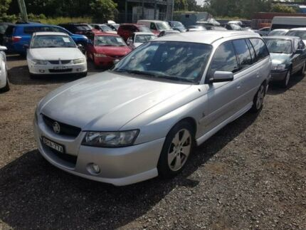 2004 Holden Commodore VZ Lumina Silver 4 Speed Automatic Wagon Lansdowne Bankstown Area Preview