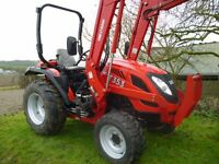 TYM T353 4X4 COMPACT TRACTOR WITH LOADER