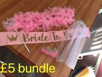 Bride Hen Party Accessories