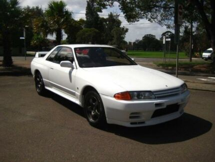 1994 Nissan Skyline R32 GTR White 5 Speed 5 SP MANUAL Coupe Burwood Burwood Area Preview