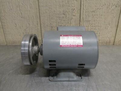 Hitachi Efou-kr Electric Motor 14 Hp 100-110 Volt 1 Ph 145017401750 Rpm