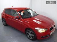 BMW 1 SERIES 116D SPORT, Red, Manual, Diesel, 2013