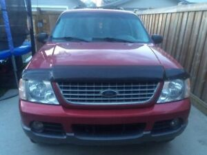 AS IS:- FOR PARTS ONLY - 2004 Ford Explorer XLT SUV