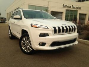 2016 Jeep Cherokee Overland 4WD Heated/Cooled Seats, Backup Came
