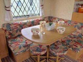 Cheap static caravan not touring , sited in Essex , 2018 site fees included