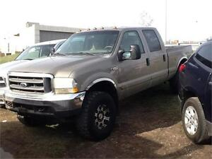 2002 FORD F350 DIESEL4X4 $3500 FIRM PROJECT TRUCK