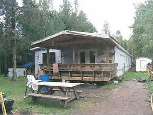 Mobile Home on 10 acres in Wildwood, AB