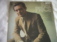 Vinyl LP Ray Price For The Good Times – CBS 64639 Stereo