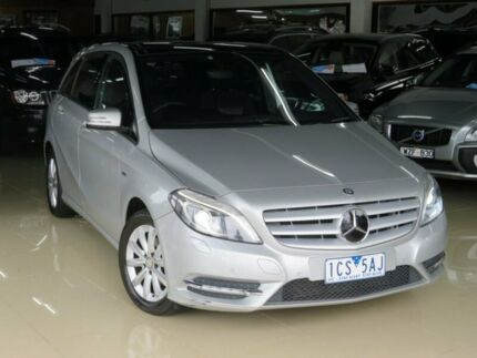 2012 Mercedes-Benz B180 246 MY13 BE Quicksilver 7 Speed Auto Direct Shift Hatchback Seaford Frankston Area Preview