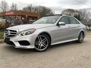 2015 Mercedes E 400-4MATIC-AMG PKG-NAVI-BACKUP CAM-PANO ROOF