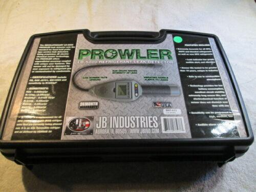 JB Industries LD-5000 Prowler Refrigerant Leak Detector in Case
