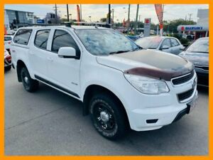 2014 Holden Colorado RG MY14 LX Crew Cab White 6 Speed Sports Automatic Utility Mount Gravatt Brisbane South East Preview