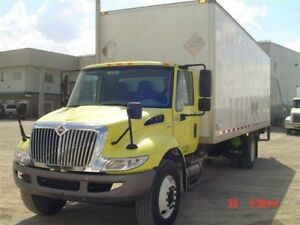 2008 International 4300 SBA 4X2, Used Dry Van