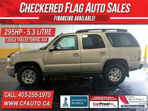 2005 Chevy TAHOE LT Z/71-LEATHER-SUNROOF-H/SEATS