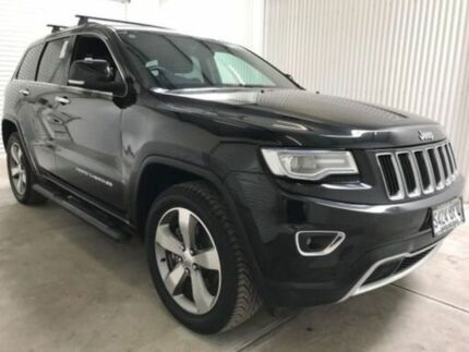 2016 Jeep Grand Cherokee WK MY15 Limited (4x4) Brilliant Black 8 Speed Automatic Wagon Salisbury Plain Salisbury Area Preview