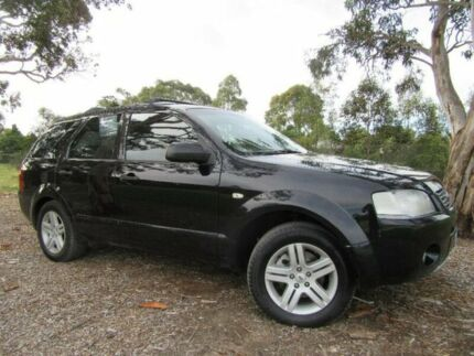 2005 Ford Territory SX Ghia Black 4 Speed Sports Automatic Wagon Doveton Casey Area Preview