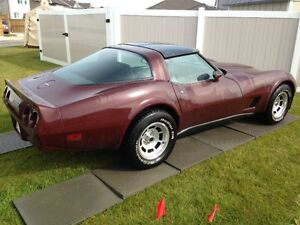 1980 Chevrolet Corvette Dark Claret Coupe (2 door)