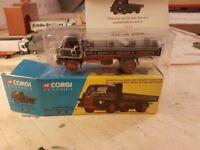 corgi classic w & j riding ltd bedofrd s type dropside lorry model 20001