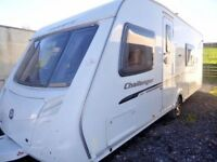 Swift Challenger 570,4 berth fixed bed,end bathroom,motor mover,excellent.