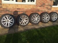 "5 x Land Rover - Range Rover - VW T5 - 20"" Wheels with Pirelli Scorpion Tyres"