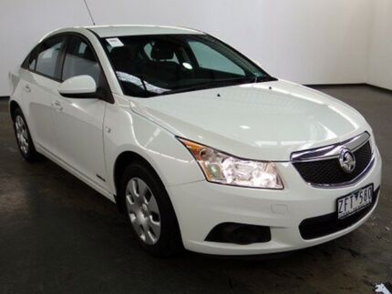 2012 Holden Cruze JH MY13 CD Heron White 6 Speed Automatic Sedan Albion Brimbank Area Preview