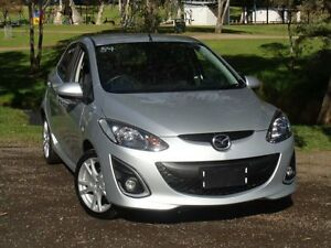 2010 Mazda 2 DE10Y1 MY10 Genki Silver 4 Speed Automatic Hatchback Elizabeth Playford Area Preview
