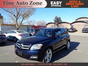 2011 Mercedes GLK 350 AWD Leather P.Roof P.Trunk - ACCIDENT FREE
