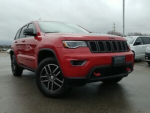 2017 Jeep Grand Cherokee Trailhawk | 0% Financing for up to 72 m
