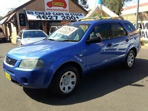 2005 Ford Territory SX TX (RWD) Blue 4 Speed Auto Seq Sportshift Wagon Campbelltown Campbelltown Area Preview